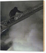 Fireman Washington Dc Wood Print