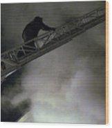 Fireman Washington Dc Wood Print