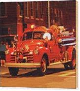 Fireman's Parade No. 3 Wood Print