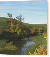 Firesteel Creek Autumn Wood Print