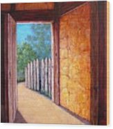 Firewall Wood Print