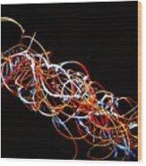Fireweed Abstract  Wood Print