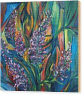 Fireweed Bouquet Wood Print