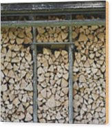 Firewood Stack Wood Print