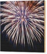 Firework Beauty Wood Print
