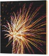 Firework Symphony Wood Print