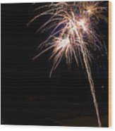 Fireworks   Wood Print by James BO  Insogna