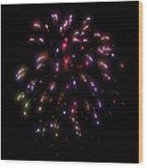 Fireworks 13 Wood Print