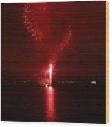 Fireworks 26 Wood Print