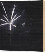 Fireworks 5 Wood Print