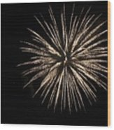 Fireworks 9 Wood Print