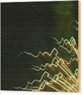 Fireworks As Art Ten Wood Print