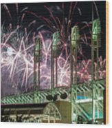 Fireworks At The Jake Wood Print