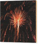 Fireworks Eighteen Wood Print