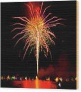 Happy Birthday, United States Of America 8 Wood Print