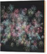 fireworks in Japan Wood Print