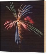 fireworks in Japan Wood Print