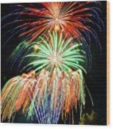 Fireworks No.1 Wood Print