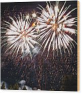 Fireworks No.5 Wood Print
