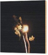Fireworks Twenty Eleven I Wood Print