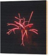 Fireworks Twenty Eleven IIi Wood Print