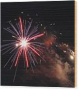 Fireworks Twenty Eleven Iv Wood Print