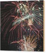Fireworks6487 Wood Print