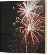 Fireworks6521 Wood Print