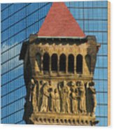 First Baptist Church Of Boston Wood Print
