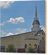 First Baptist Church - Pflugerville Texas Wood Print