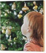 First Christmas Wood Print