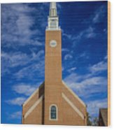 First Congregational Church Wood Print
