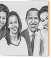 First-family 2013 Wood Print