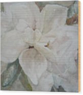First Gardenia Wood Print by Dorothy Herron