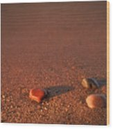 First Light Apostle Islands Natl Lakeshore Wood Print