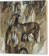 First Nation 67r Wood Print