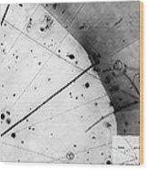 First Neutrino Interaction, Bubble Wood Print