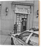 First Precinct Nyc Wood Print