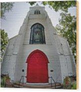 First Presbyterian Church Of Hackettstown Wood Print