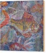 Fish Fantasy Wood Print
