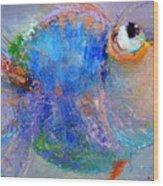 Fish-ka 2 Wood Print
