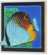Fish Number Four Wood Print