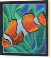 Fish Number Three Wood Print