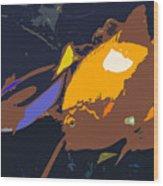 Fish Of The Tropics Wood Print