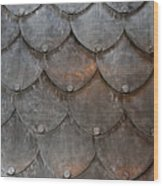Fish Scales Wood Print