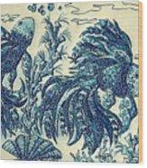 Fish Tangled 3 Wood Print