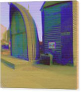 Fisher Houses Wood Print