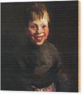 Fisherman Daughter 1910 Wood Print