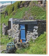 Fisherman's Hut Priest's Cove Cape Cornwall Wood Print