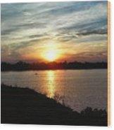 Fisherman's Sunset Horizon Wood Print